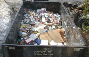 For Your Next Trash Removal Project Rent A KT Cleanouts Dumpster